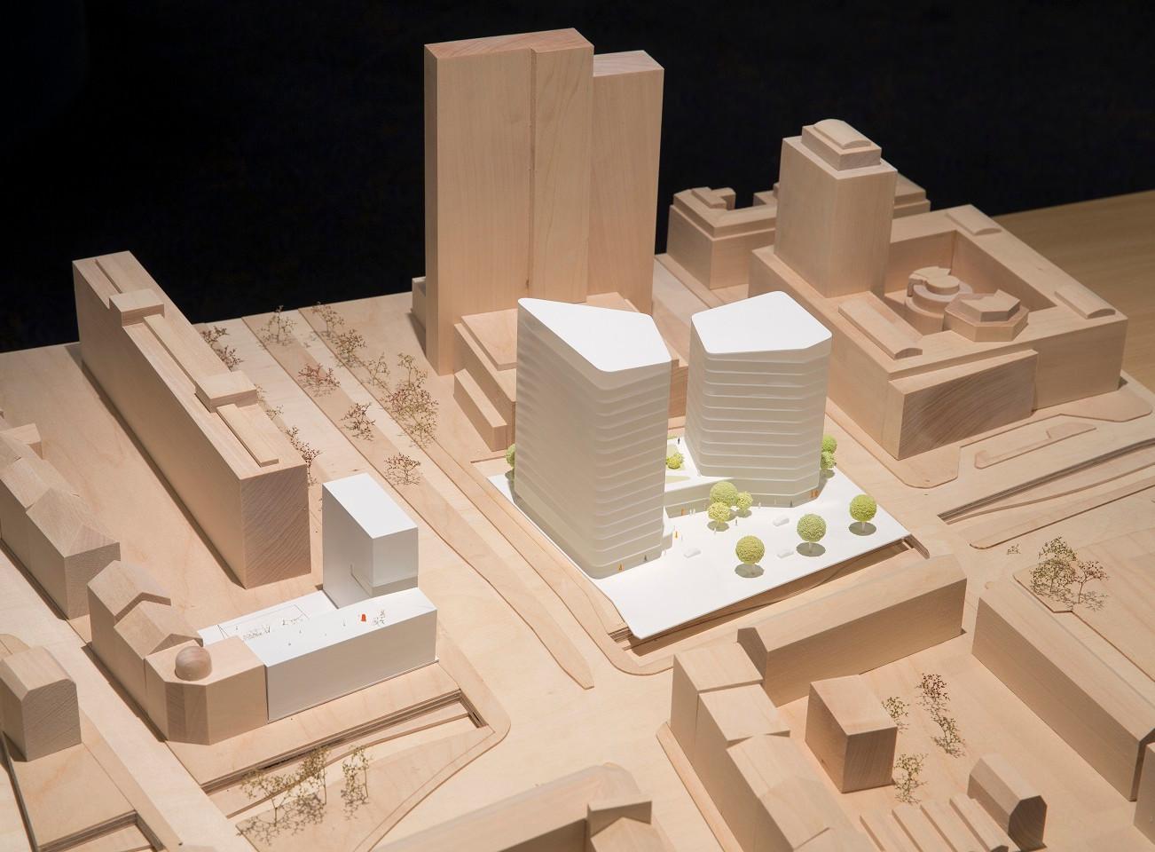 Leipzig: Covivio gibt die Ergebnisse des Architekturwettbewerbs für ein modernes Büro-Hochhauspaar nahe dem Hauptbahnhof bekannt