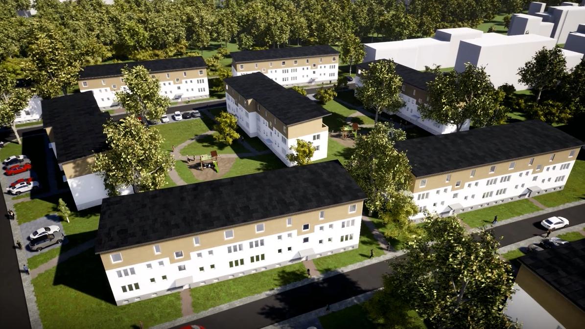 44 neue Wohnungen in Essen-Gerschede