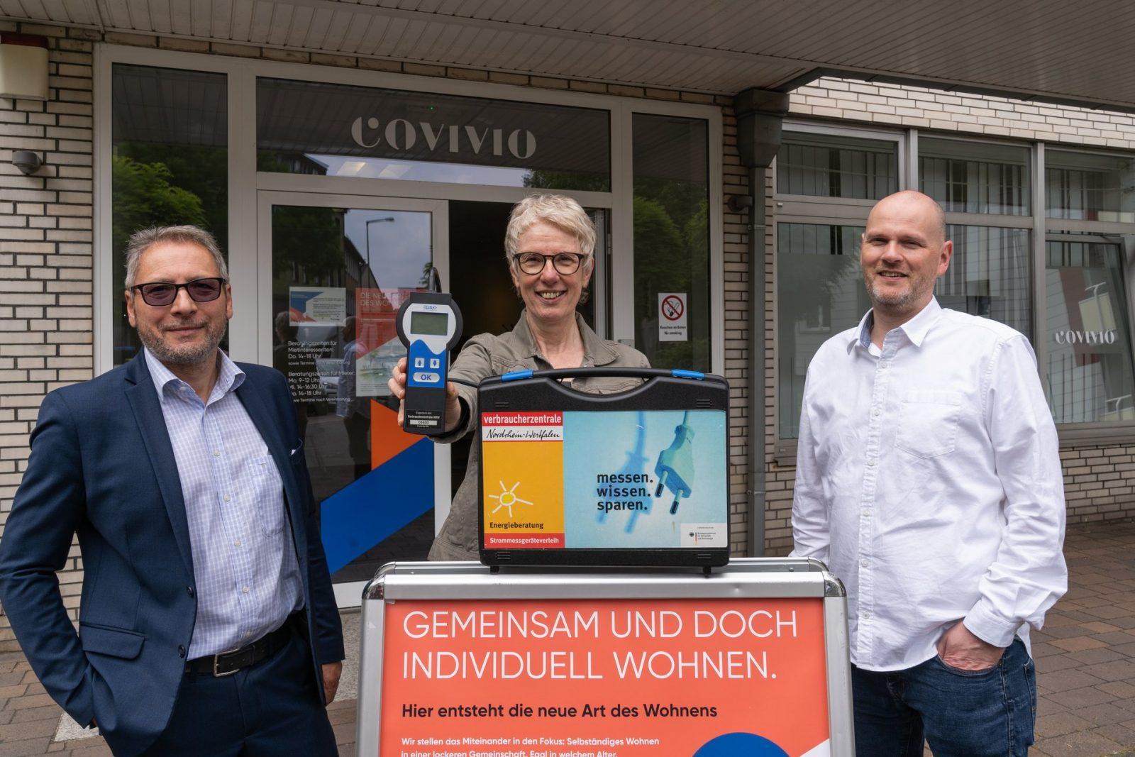 Covivio und Verbraucherzentrale NRW in Oberhausen: Strom sparen leicht gemacht
