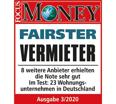 """""""Fairster Vermieter"""": Spitzenposition für Covivio bei bundesweiter Mieterbefragung von FOCUS-MONEY"""