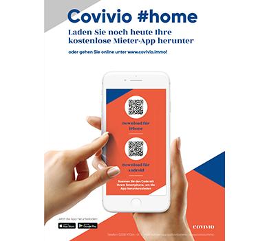 Nutzen Sie die Vorteile der neuen Covivio App