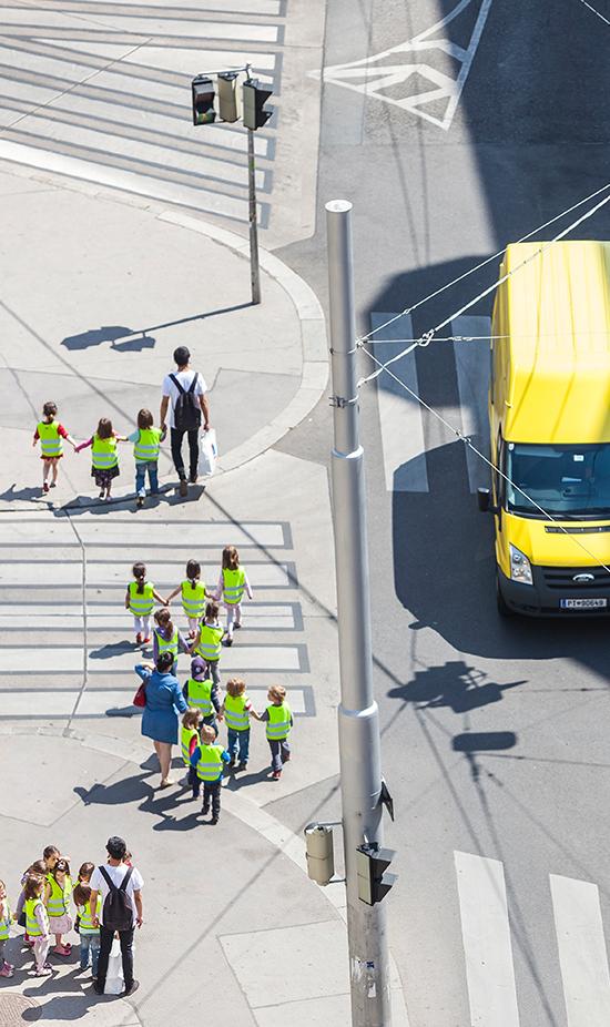 Oberhausen: Covivio unterstützt Verkehrssicherheitstraining für Vorschulkinder