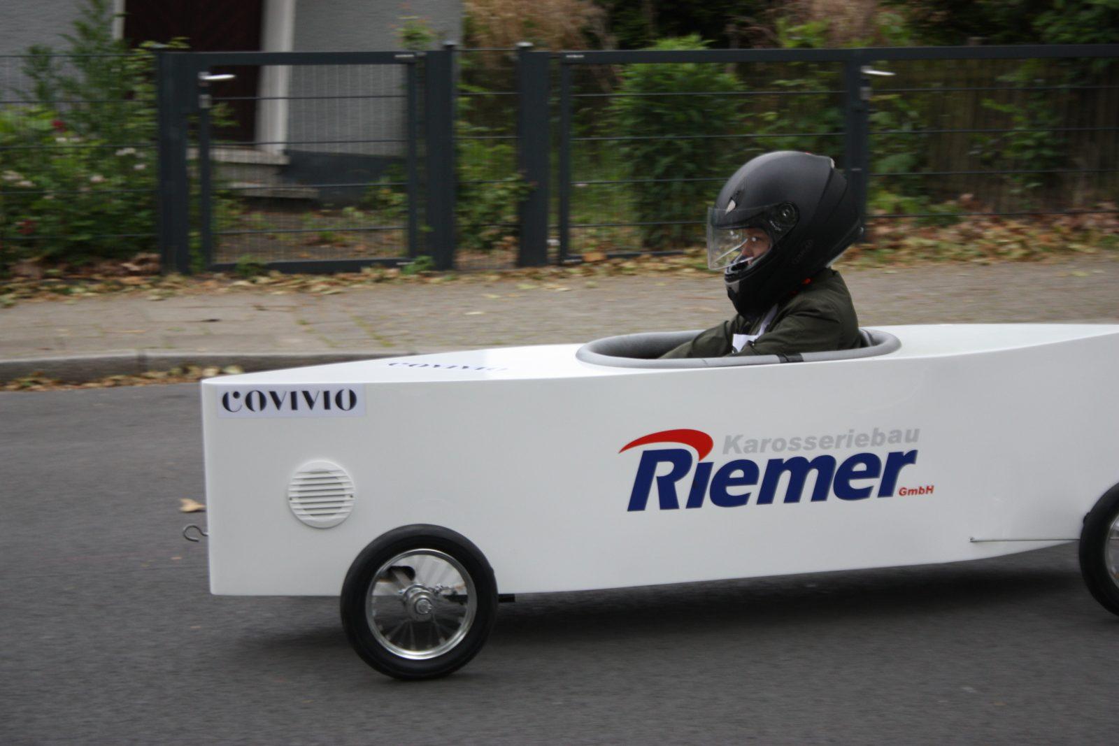 Covivio sponsert Seifenkistenrennen